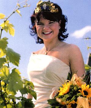 Regina Schuster, Gebietsweinkönigin Hessische Bergstraße 2004-05