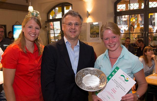 Caroline I., Bürgermeister HP Rainer Burelbach, Charlotte Freiberger