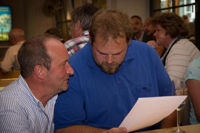 v.li. Hanno Rothweiler, Johannes Bürkle