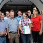 """Ehrenpreisträger """"Bereich Groß-Umstadt"""", Vertreter Weinbauverband, Diethard Kerkau (1. Stadtrat Gr.-Umst.)"""