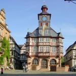 Rathaus am Heppenheimer Marktplatz