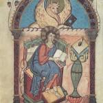 Evangelist Lukas im Lorscher Evangeliar