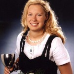 Petra Gärtner, Gebietsweinkönigin Hessische Bergstraße 2000-01