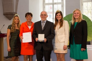 Weingut Volker Dingeldey, Bensheim (Gronau) erhält Staatsehrenpreis 2013