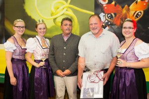 Preisverleihung Ehrenpreis Landkreis-Darmstadt-Dieburg an Werner Edling
